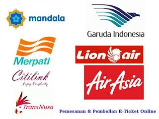 panduan beli tiket pesawat online