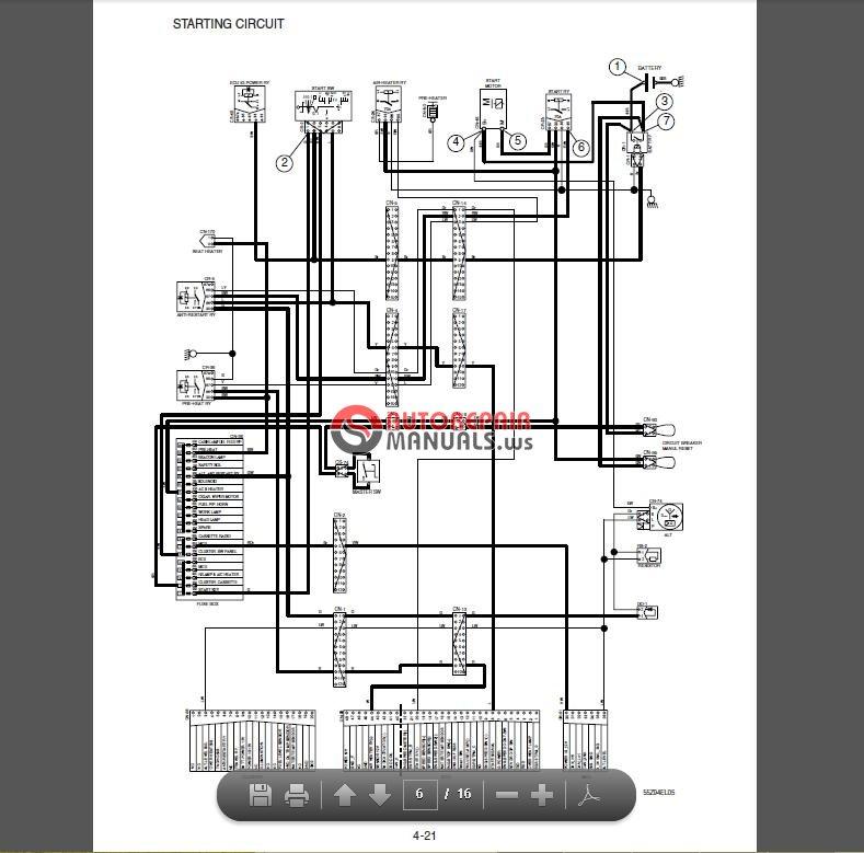 auto repair manuals  hyundai heavy equipment 2014 service