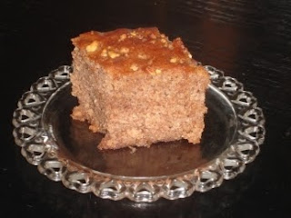 Walnut Cake (Karidopita) Recipe