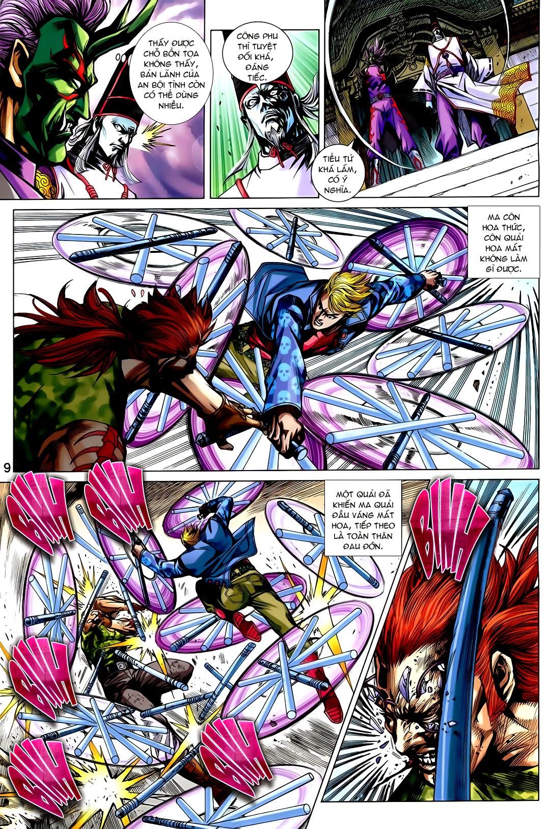 Tân Tác Long Hổ Môn chap 730 - Trang 19