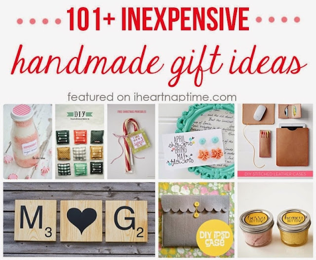 101+ Inexpensive Handmade Christmas Gifts