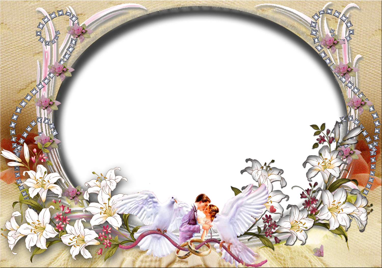 PNG Wedding Frames http://photoshoppngframeswallpapersdesigns.blogspot.com/2012/03/love-frames.html