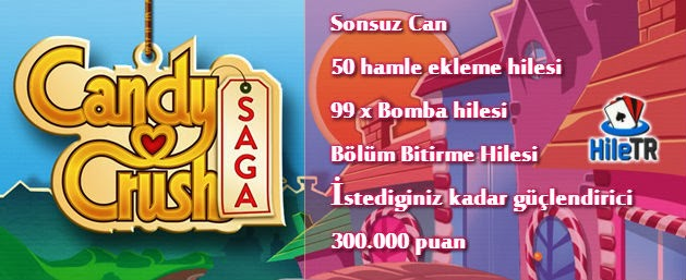 candy crush saga trainer hack hile programı