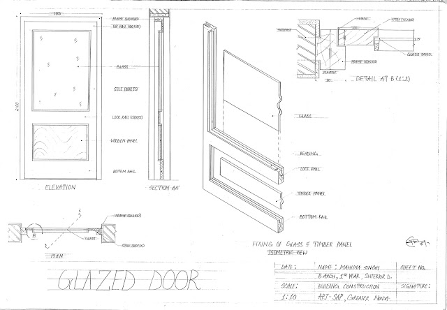 Ledged Braced And Battened Door  sc 1 st  Architecture Portfolio(UG) & Architecture Portfolio(UG): Doors And Windows