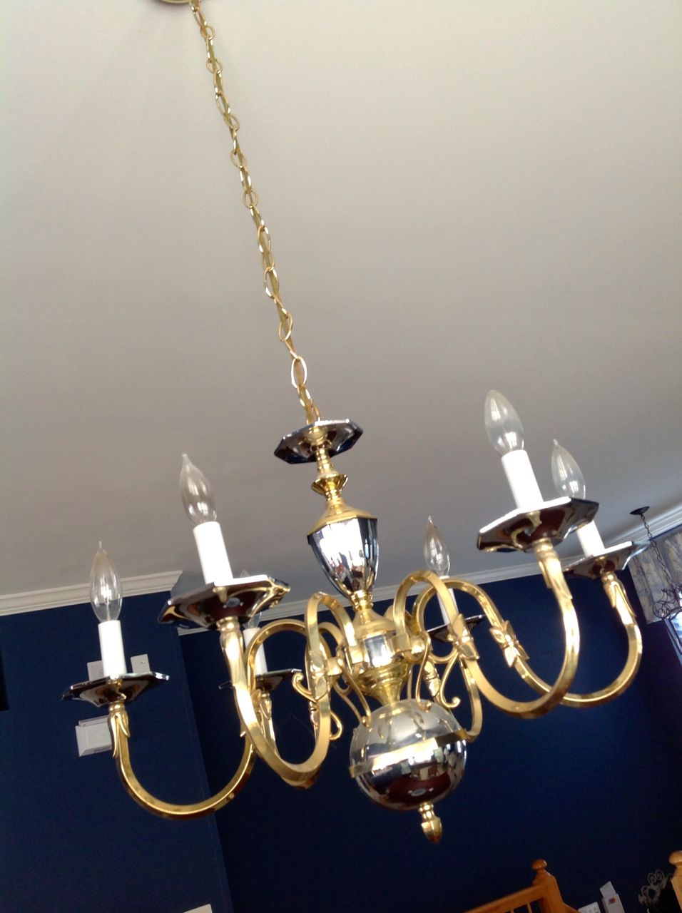 The Craft Tutor: DIY Chandelier Cord Cover