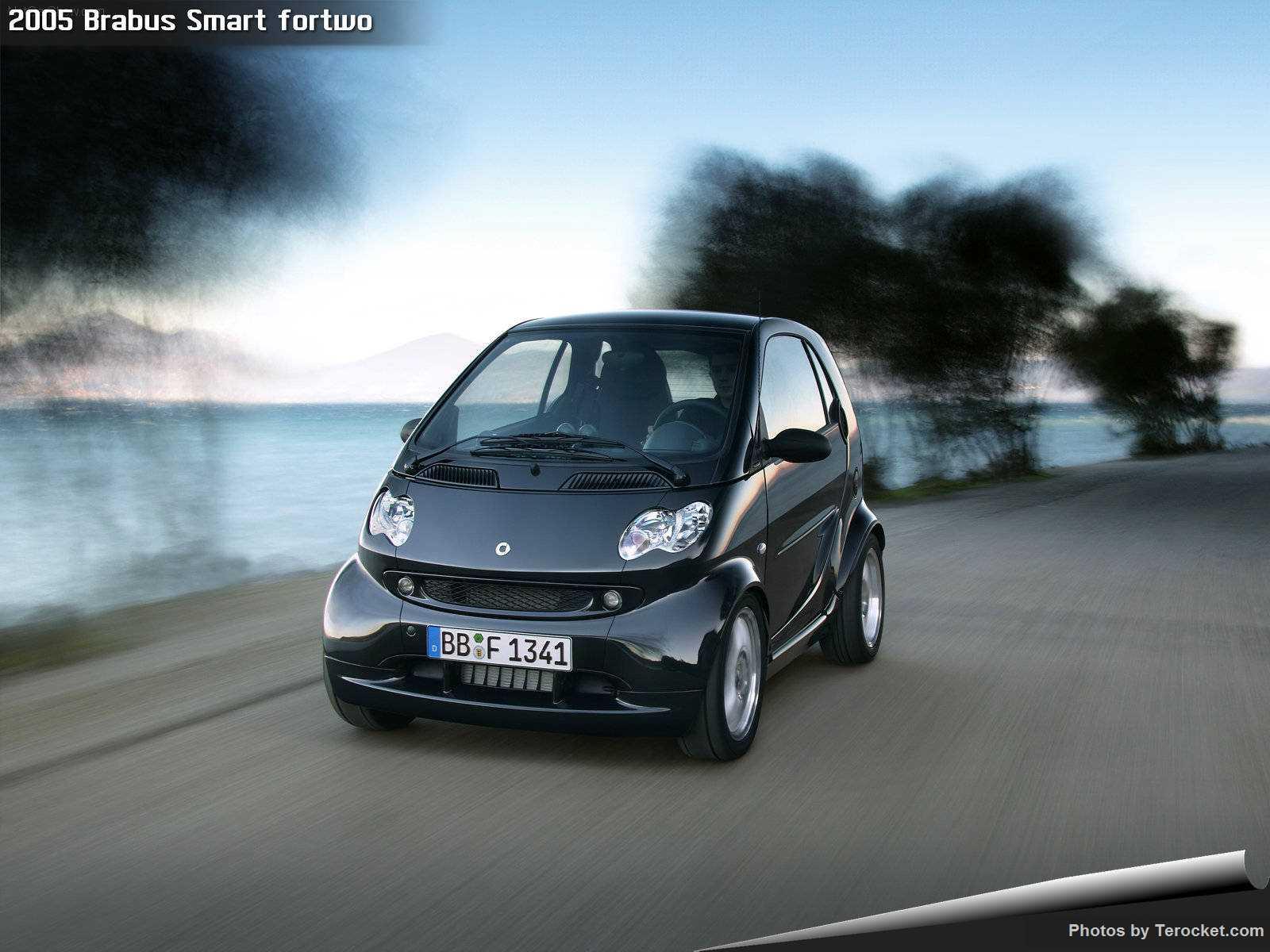 Hình ảnh xe ô tô Brabus Smart fortwo 2005 & nội ngoại thất