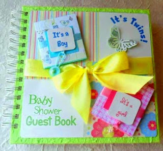baby shower sign in