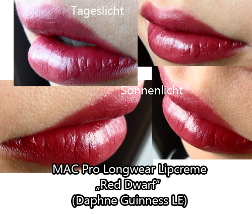 "Pictures/Swatches: MAC Pro Longwear Lipcreme ""Red Dwarf ..."