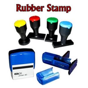 Tempahan sijil for Rubber stamp t shirt printing