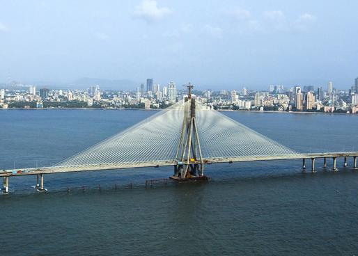Rajiv Gandhi Sea Link (Bandra-Worli Sea Link)