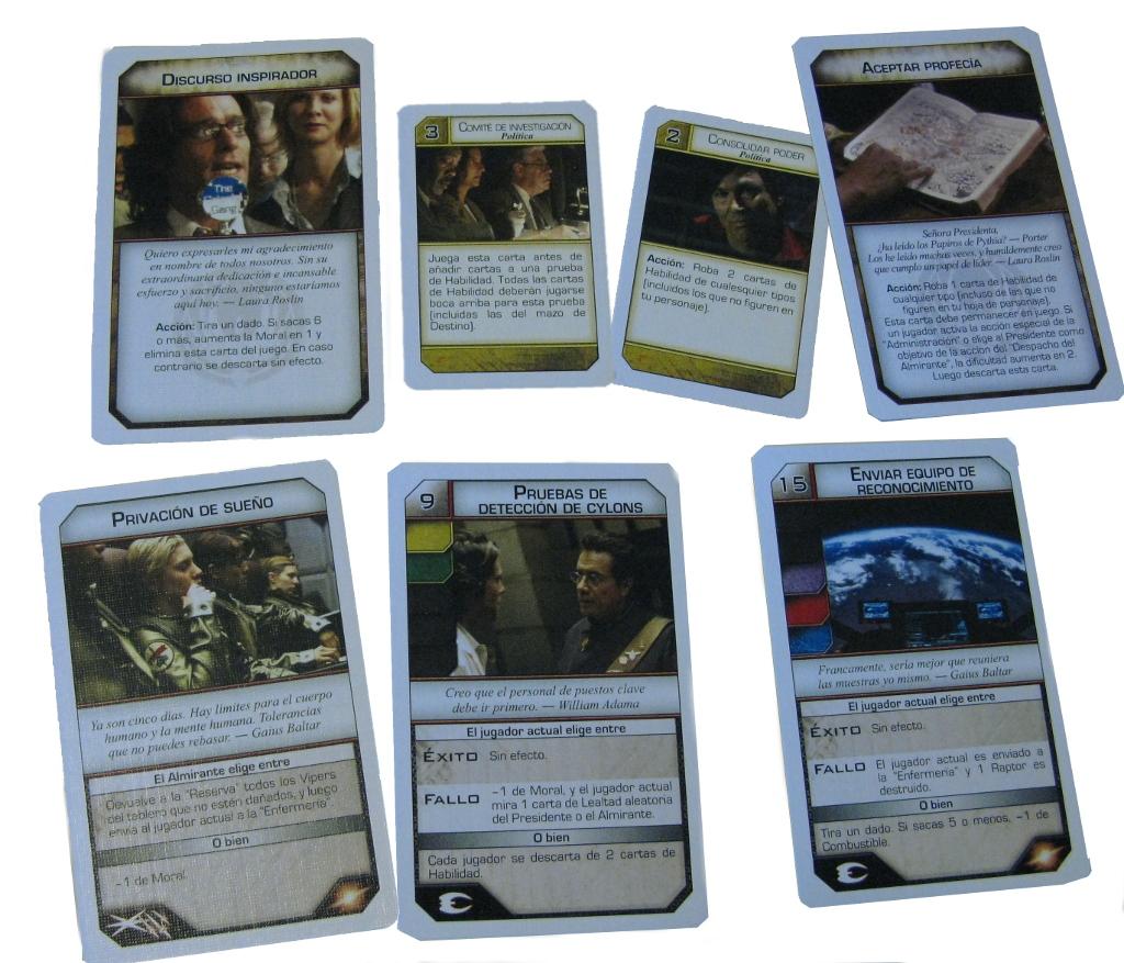 Battlestar Galactica - cartas varias