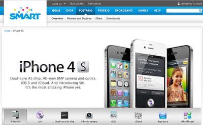 List of Smart Stores offering the new iPhone 4S!
