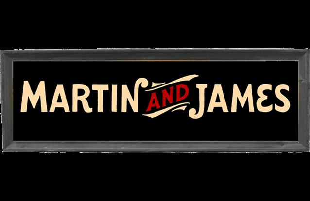 Martin and james on Tour