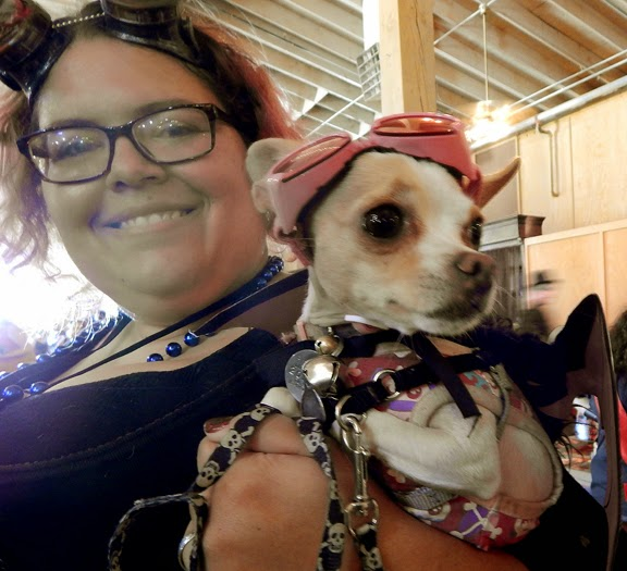 Wild Wild West Steampunk Con puppy