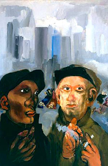 Pintores y pinturas juan carlos boveri philip evergood for Trabajo para pintores