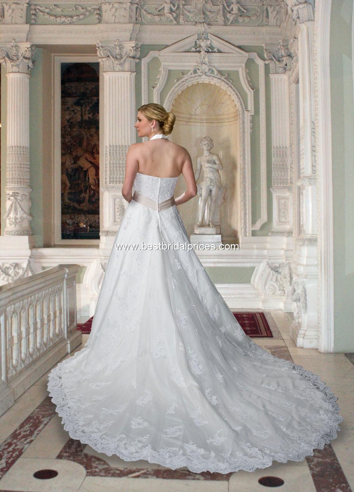 Accent Lace Plus Size Wedding Dresses