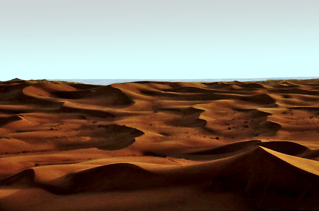 desert sands of Dubai