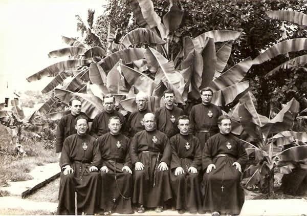 Primeiros Missionários Passionistas que vieram pra Bahia