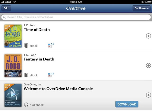 how to read overdrive ebooks on ipad