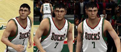 NBA 2K13 Ersan Ilyasova Cyberface Mod