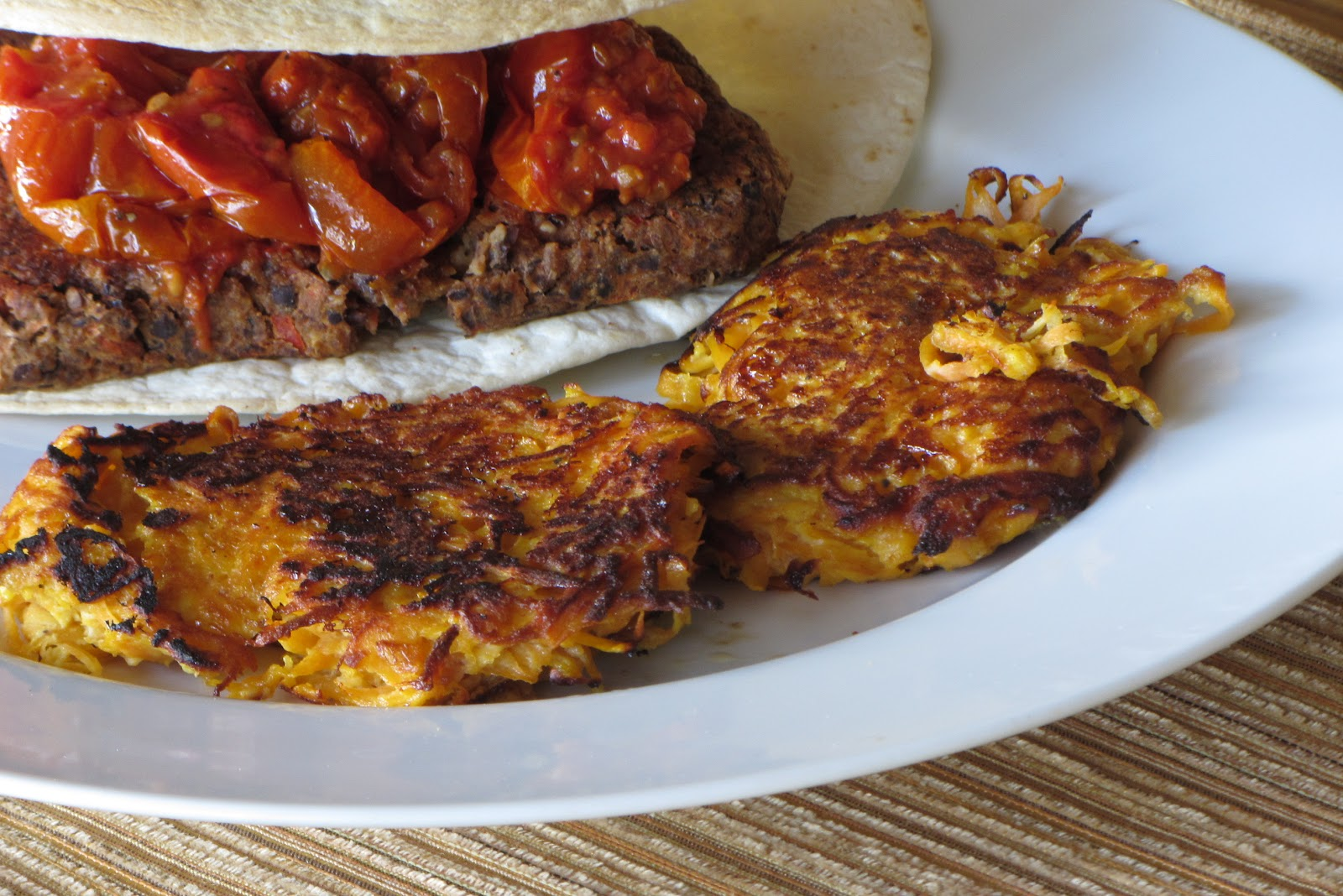 Tracy's Living Cookbook: Sweet Potato Patties