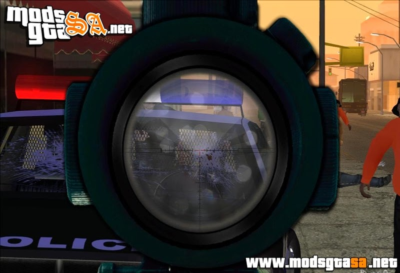 SA - Mira Sniper Scope Mod FIX