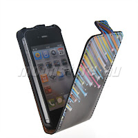 LEATHER CASE COVER FOR IPHONE 4 4G 4S