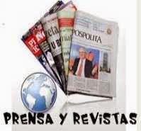 Prensa y revistas, Newspapers and magazines
