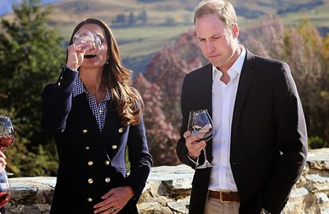 kate middleton, kate and wills, royal tour new zealand, prince george, amisfield winery, whorrified,