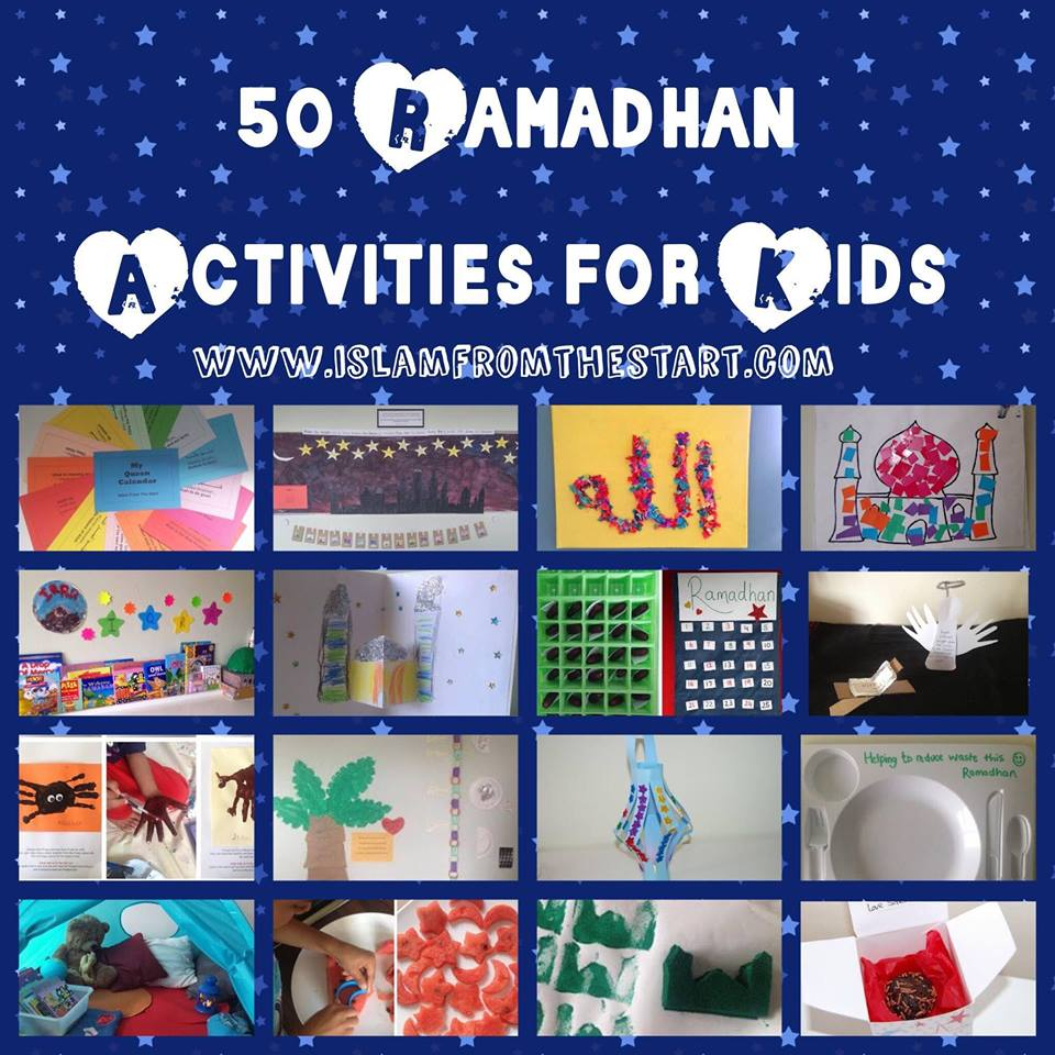50 Ramadhan Activities