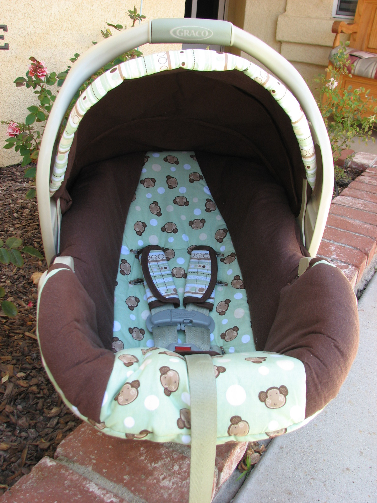 Recovering An Infant Car Seat