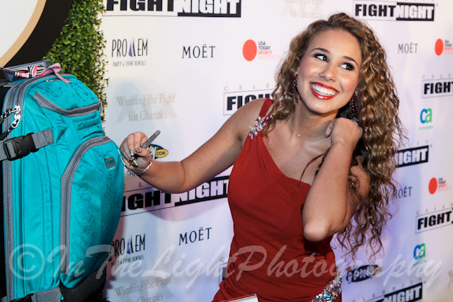 Celebrity Fight Night 2013 Red Carpet Haley Reinhart