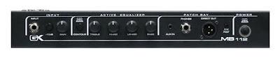 Gallien Kruger light weight amplifier