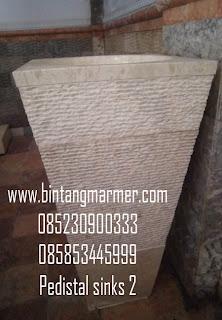 Jual Pedestal rock|pedestal marmer