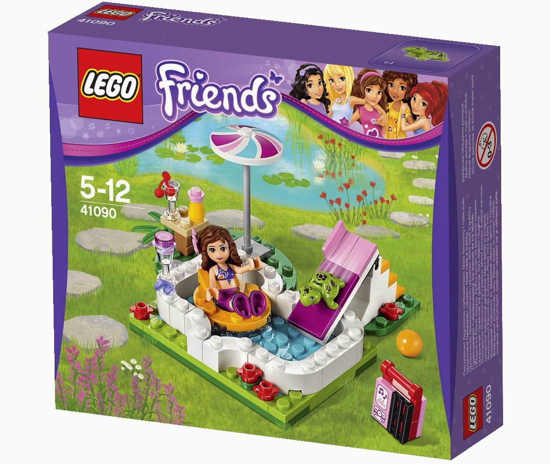 Brick friends lego 41090 olivia 39 s garden pool for Lego garden pool