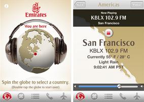 Destination Radio iOS app by Emirates Airlines released