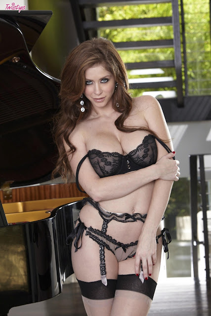 Emily Addison Sexy in Lingerie