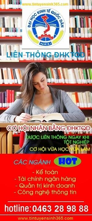 lien thong dai hoc kinh te quoc dan