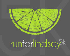 Run For Lindsey 5k Button