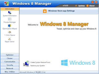 Windows 8 Manager v1.0.7