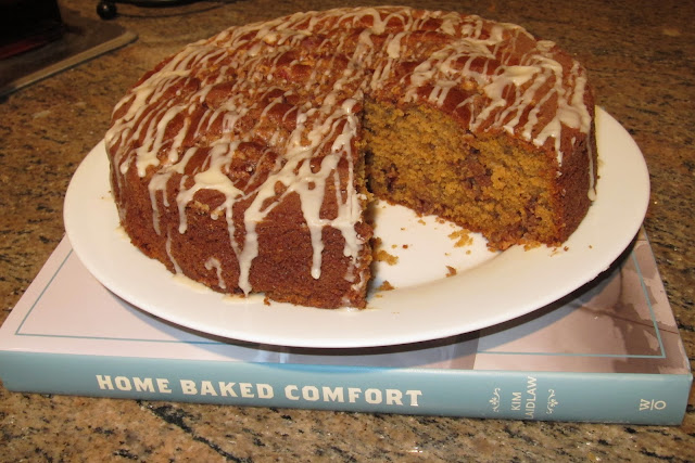 ... Desire to Inspire: Pumpkin Coffee Cake with Brown Sugar Pecan Streusel