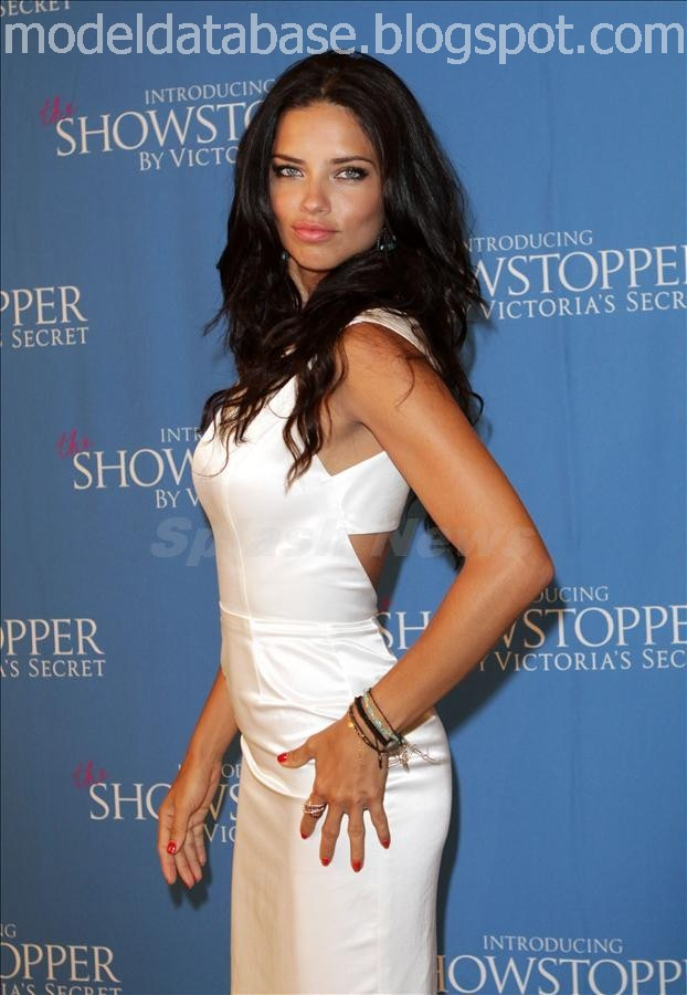 images of Secret Model Adriana Lima Red Hot In The Launching Of