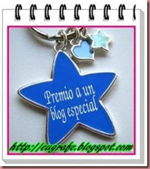 Premio a un blog especial de mis amigas Bea y Merce