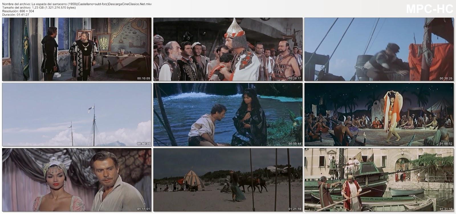 Capturas - La espada del sarraceno