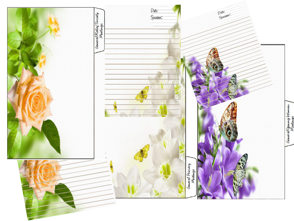 relief society blog binder covers | just b.CAUSE