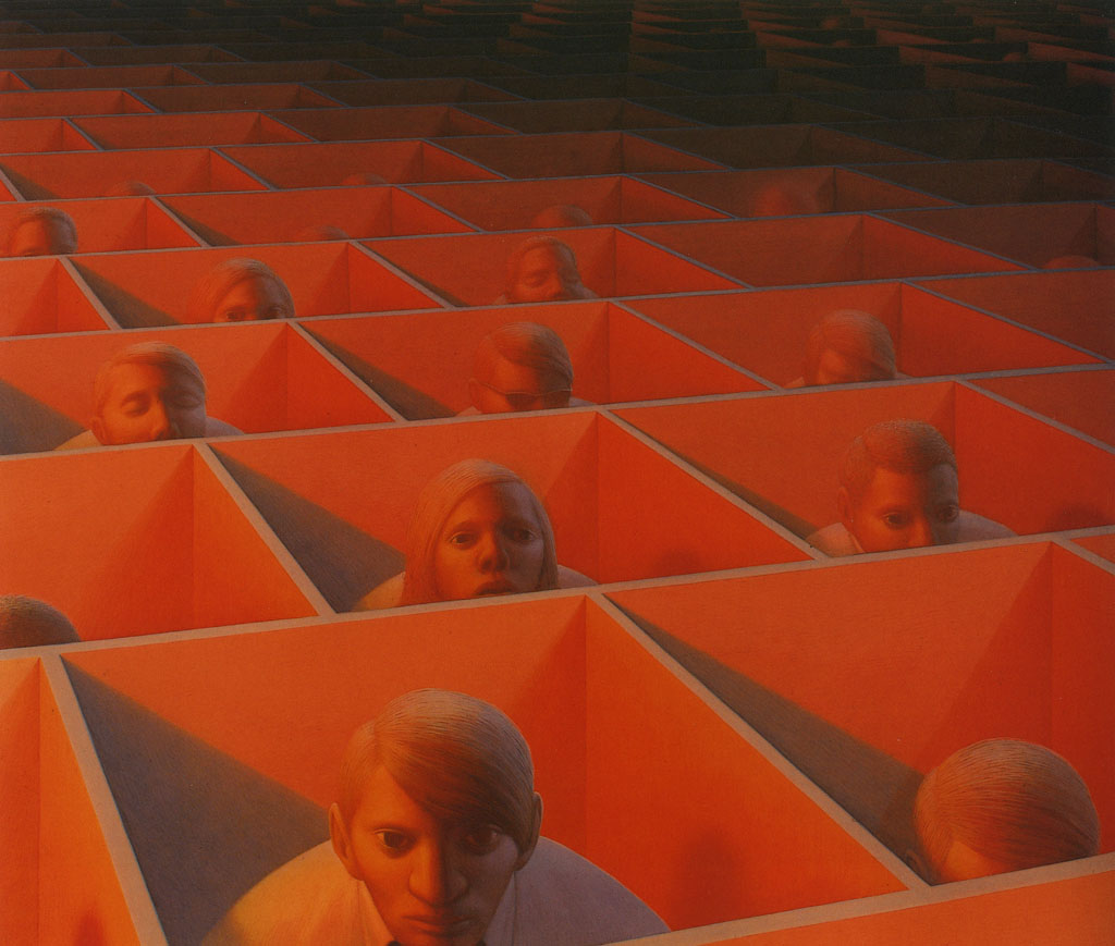 Dragon George Tooker By Chris Kearin