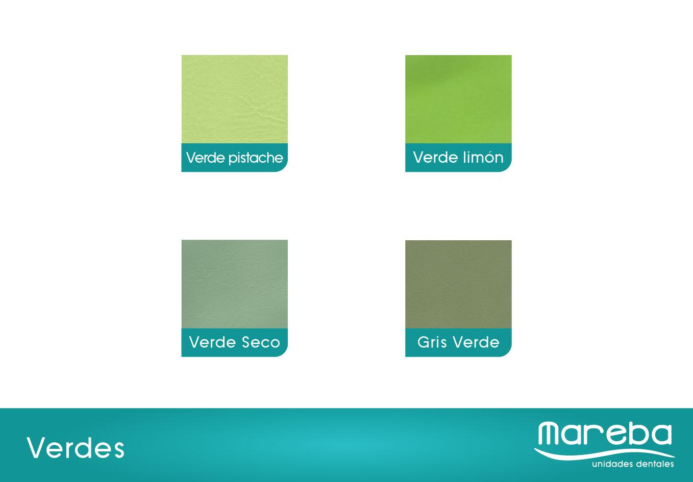 Mareba unidades dentales muestrario de color for Muestrario de colores