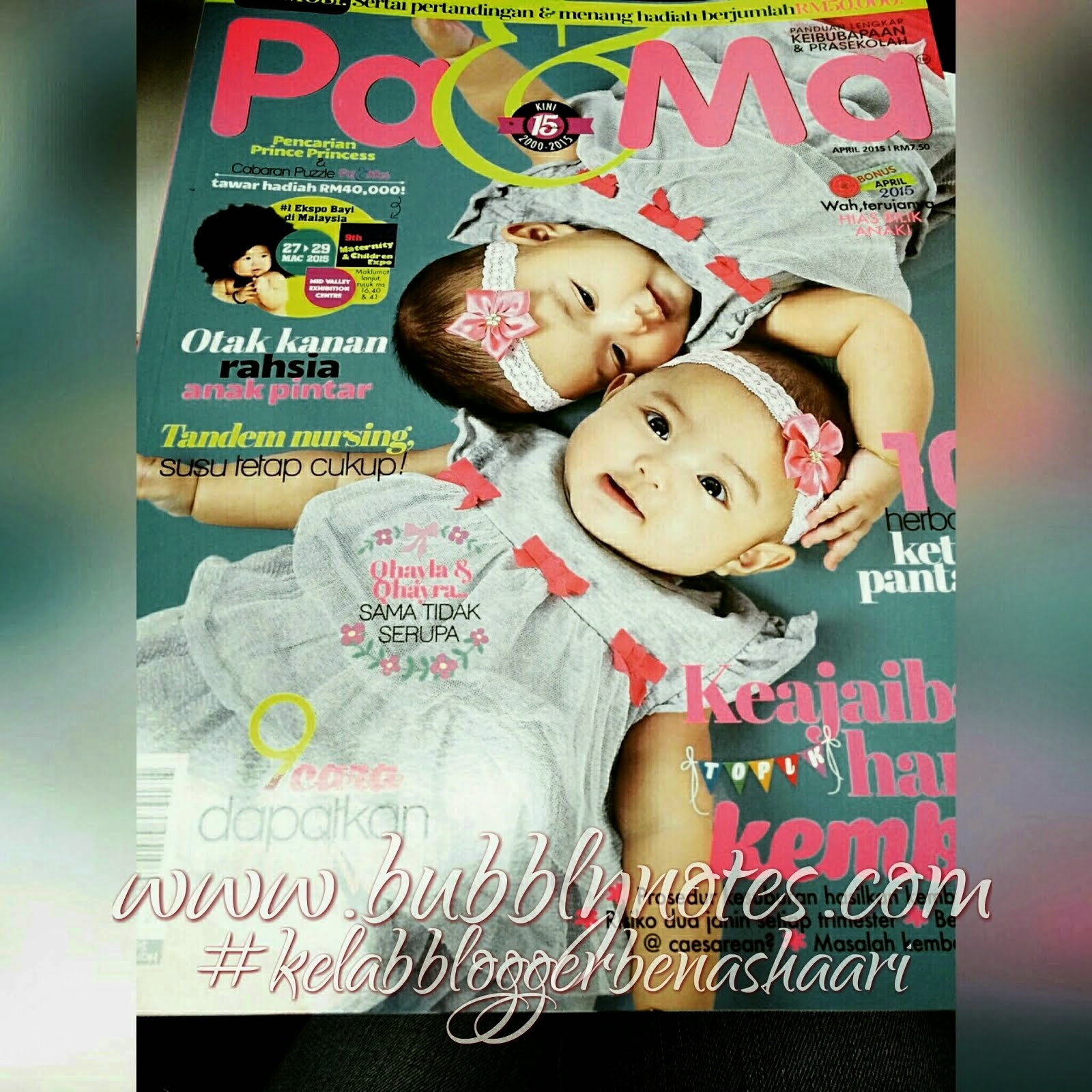 Featured On: Majalah Pa & Ma April 2015