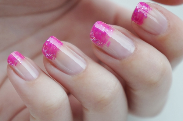 Diy Nail Art Easy Pink Manicure Beautyill