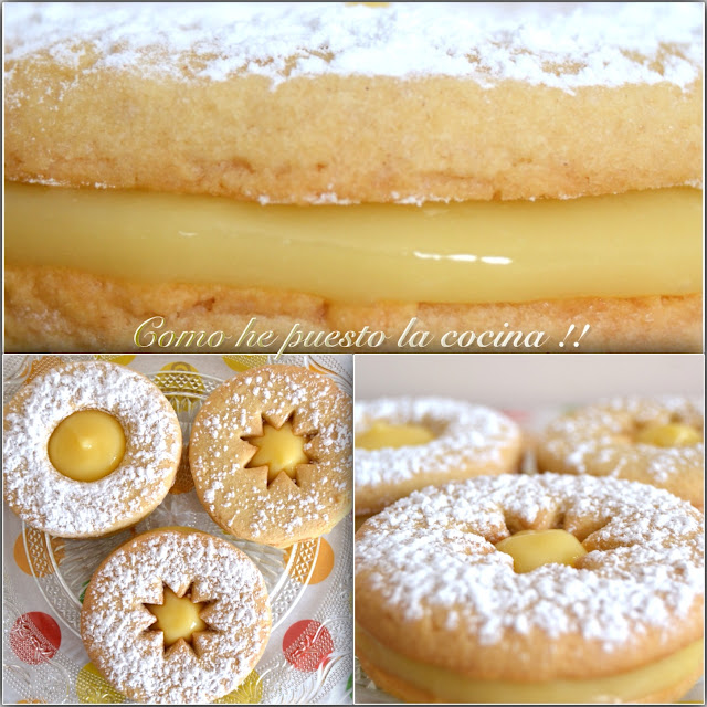 GALLETAS LEMON CURD